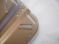 Aluminium Backplate 1,3kg / 4mm (Especially Long Size 500mm)
